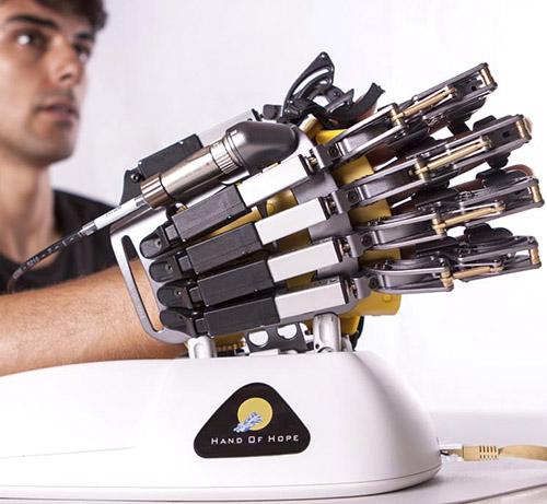 Hand-of-Hope Robotics hand