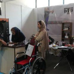 غرفه توان برتر پارسیان در نمایشگاه ایران هلث